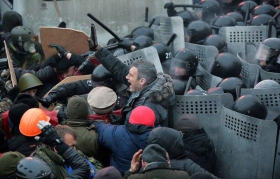 Susirėmimai Kijeve