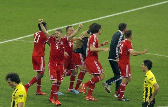 """""""Reuters""""/""""Scanpix"""" nuotr./""""Bayern"""" triumfas."""