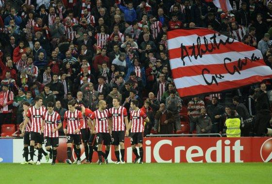 """AFP/""""Scanpix"""" nuotr./""""Athletic"""" futbolininkai"""