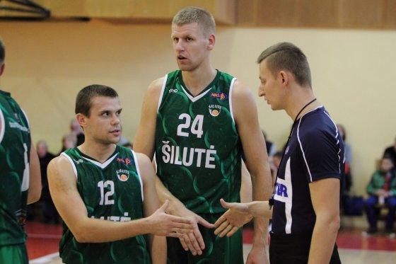 Aukščiausias ir žemiausias NKL krepšininkai, Nerijus Anglickis ir Julius Ščipokas