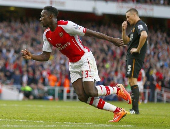 """Reuters""/""Scanpix"" nuotr./Danny Welbeckas išplėšė ""Arsenal"" tašką"