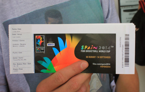"Pauliaus Cuberos nuotr./""Gran Canaria"" arenos bilietų kasos"