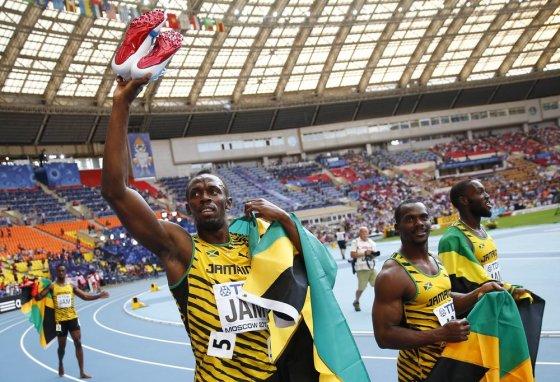 """""""Reuters""""/""""Scanpix"""" nuotr./Jamaikos sprinteriai"""