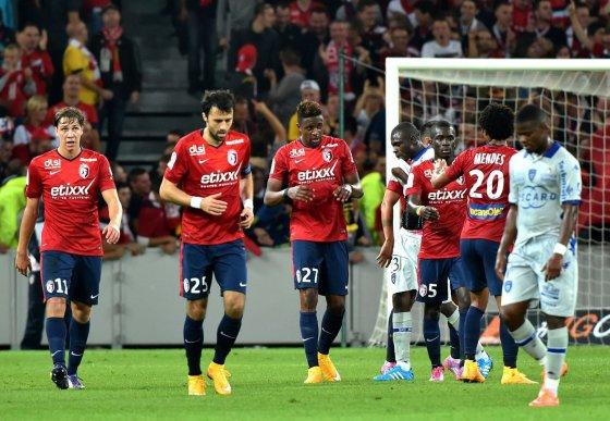 """AFP/""""Scanpix"""" nuotr./""""Lille"""" futbolininkai"""