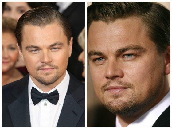 """""""Scanpix"""" nuotr./Leonardo DiCaprio (kairėje 2014 m., dešinėje - 2008 m.)"""