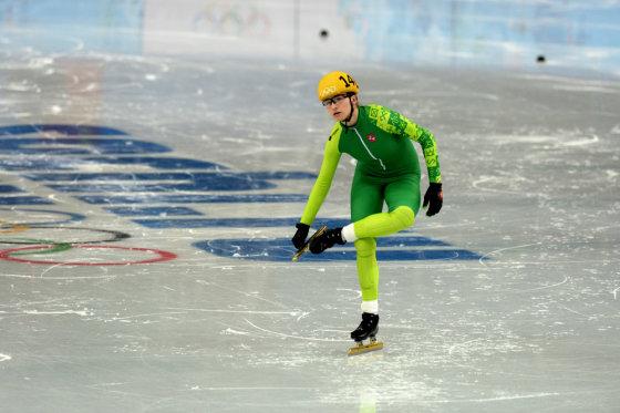Alfredo Pliadžio nuotr./Greitojo čiuožimo atstovė Agnė Sereikaitė