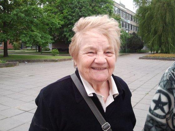L. Sėlenienės nuotr. /Pensininkė Stanislava Poškienė