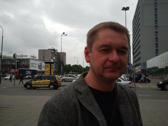 L. Sėlenienės nuotr. /Pardavimų vadovas Tomas Kanapeckas