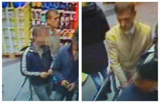 Policijos nuotr. /Ieškomas alkoholinius gėrimus parduotuvėje Klaipėdoje pavogęs vyras
