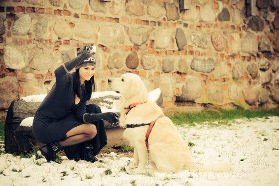 Julija, lydėjo Mino i prieglauda, foto iš Facebook