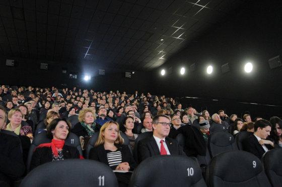 """Jūratės Ramanauskaitės nuotr./""""Nepatogaus kino"""" atidarymas"""