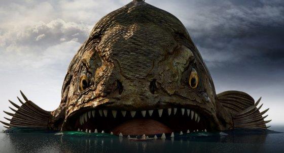 Žuvis milžinė Gustavo nuotykiai