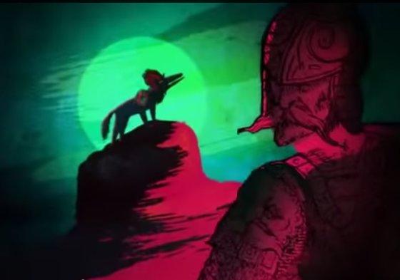 """""""YouTube"""" nuotr./Baltarusijos istorikai savinasi ne tik Vilnių, bet ir Geležinio Vilko legendą."""