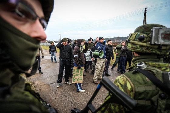 Ievos Budzeikaitės (KAM) nuotr./Greitojo reagavimo pajėgų užduotis - reaguoti į hibridines grėsmes.
