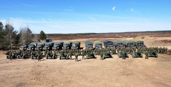 KAM nuort./Lietuvos kariuomenė turi apie 40 daniškų 105 mm haubicų