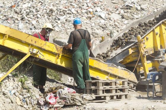 BFL nuotr./Statybos atliekų aikštelė