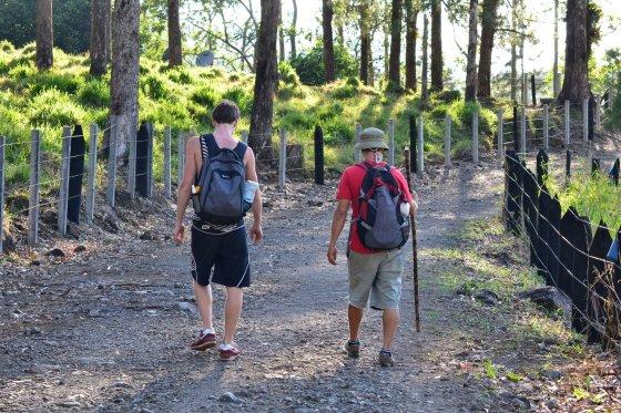Asmeninio albumo nuotr./Arenal vulkano nacionalinis parkas