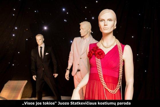 """""""Ciklopo"""" nuotr./Juozo Statkevičiaus parodoje eksponuojami kostiumai"""