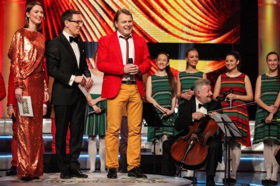 """Deivaro Kaleininko (LRT.lt) nuotr./Chorų """"Eurovizijos"""" finalas"""