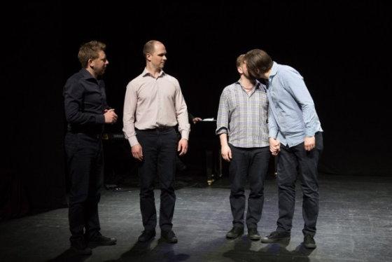 """Teatro archyvo nuotr./""""Kito kampo"""" aktoriai"""