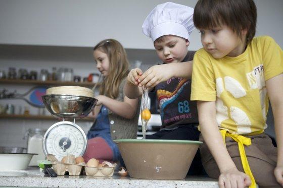 """TV3 nuotr./Rubrika vaikams """"Šiandien aš virtuvės šefas"""""""