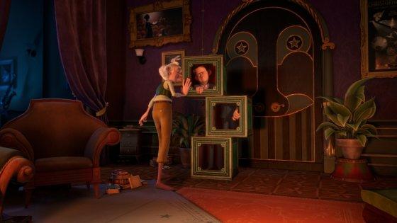 """""""ACME Film"""" archyvo/Akimirka iš animacinio filmo """"Stebuklų namai"""""""