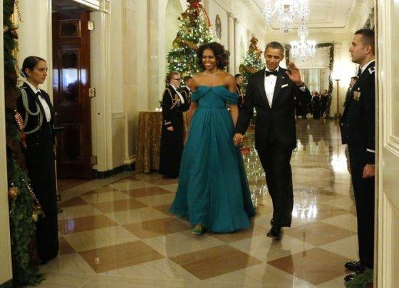 Barackas Obama ir Michelle Obama