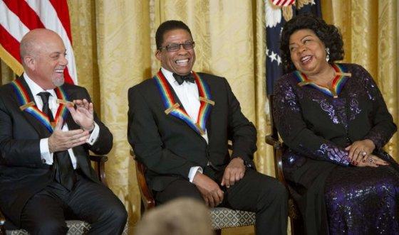 Kennedy centro apdovanojimų akimirka