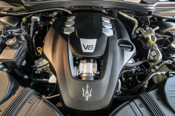 """Juliaus Kalinsko/15min.lt nuotr./""""Maserati Ghibli"""""""