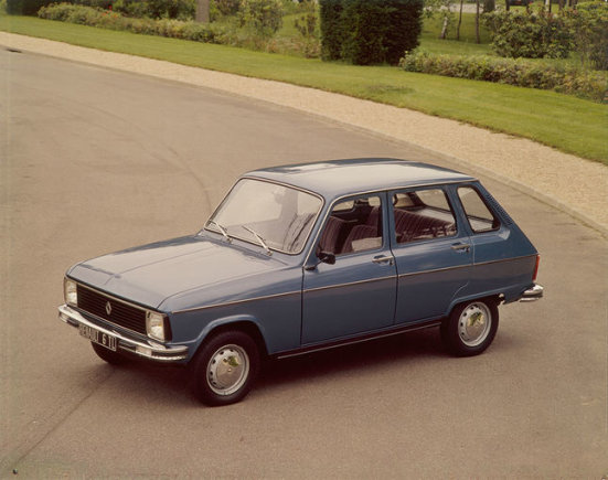 """Renault"" nuotr. /1978 m. ""Renault 6"""