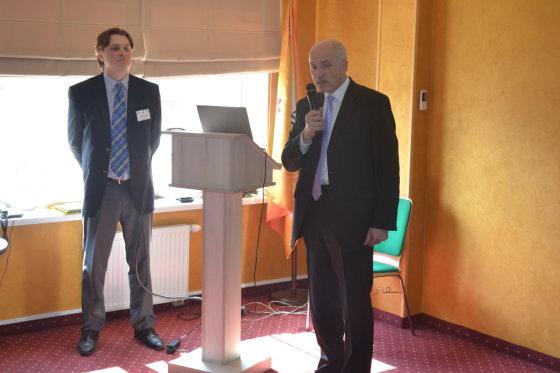 Lietuvos Respublikos generalinis konsulas Kaliningrade Vaclovas Stankevičius pasveikino turizmo verslo misijos dalyvius