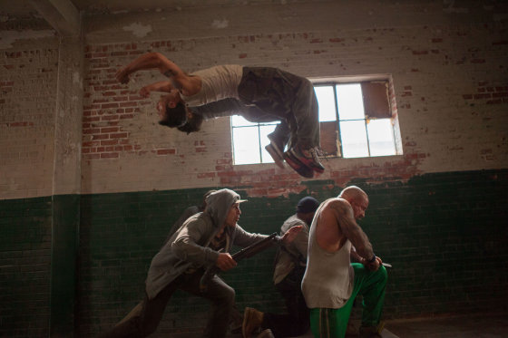 "Filmo ""13 rajonas: plytų rūmai"" premjera Lietuvoje gegužės 16d. Top films nuotr."