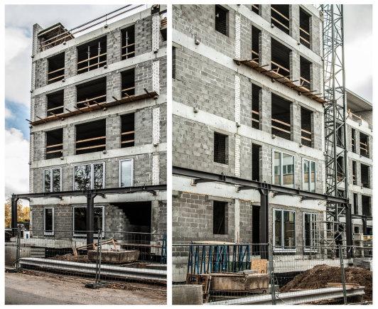 """Projektuojant ir statant ,,Žalgirio namus"""", didžiausias dėmesys skiriamas energetiniam pastato efektyvumui."""