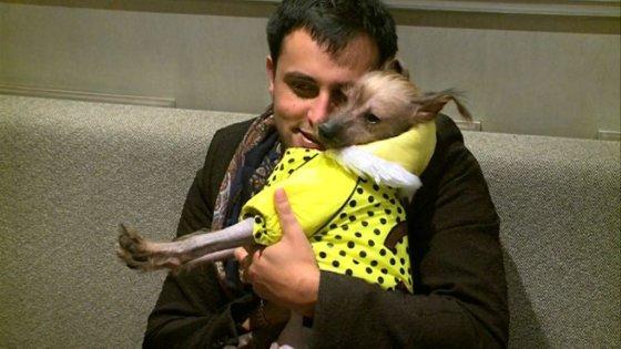 Stop kadras/Radžis ir jo šuo Baris