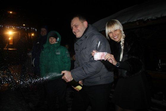 Tomo Markelevičiaus nuotr./2015-ųjų sutikimas Panevėžio rajone