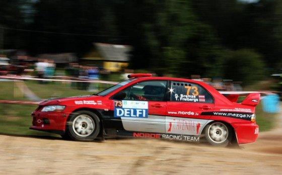 "Dace Janova/4rati.lv nuotr./""300 Lakes Rally"""