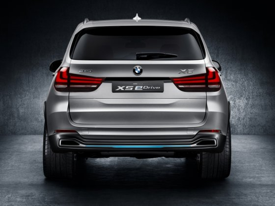 "BMW nuotr./""BMW Concept X5 eDrive"""