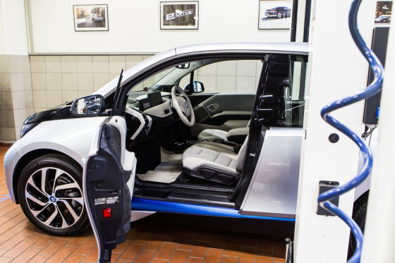 BMW nuotr./BMW i servisas Vilniuje