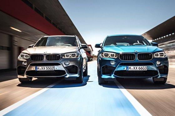 BMW nuotr./BMW X5 M ir X6 M