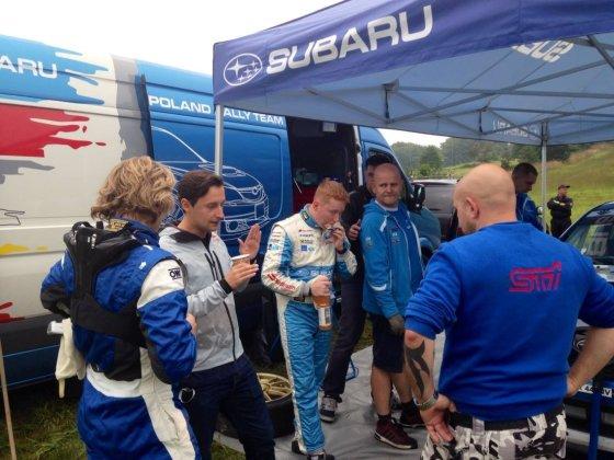 """""""Subaru Poland Rally Team"""" nuotr./Dominykas Butvilas"""