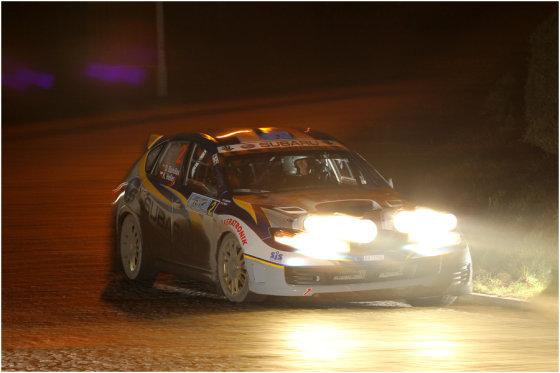 """""""Subaru Poland Rally Team"""" nuotr./Dominykas Butvilas """"Rajd Arlamov"""" ralyje"""