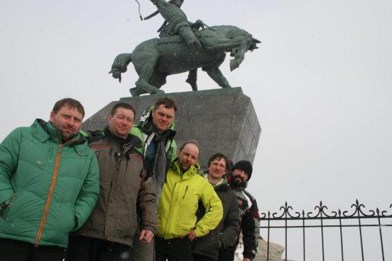 Asmeninio A.Sutkaus archyvo nuotr./Ekspedicija Uralo kalnuose