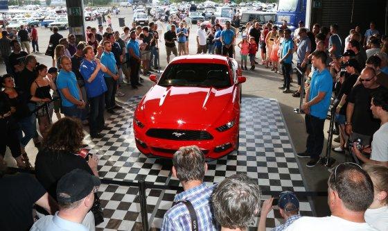 """Organizatorių nuotr./""""Ford Mustang"""" gerbėjų susitikimas"""