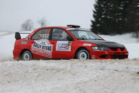 """Tomo Markelevičiaus nuotr./""""Halls Winter Rally 2015"""" bandomasis ir kvalifikacinis greičio ruožai"""