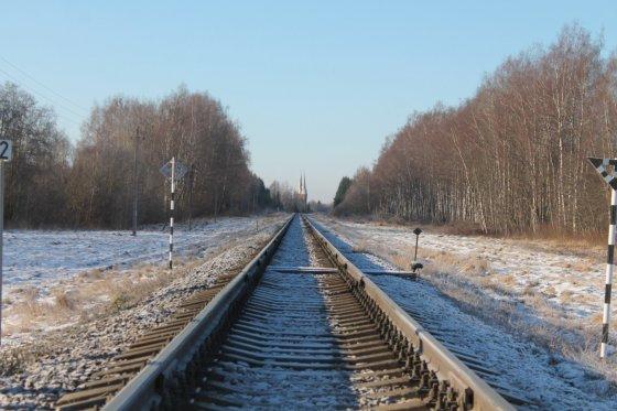 Tomo Markelevičiaus nuotr./Geležinkelio pervaža