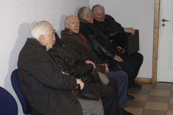Tomo Markelevičiaus nuotr./Į posėdį susirinko politiniai kaliniai