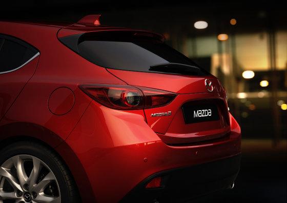 """""""Mazda"""" nuotr./""""Mazda 3"""""""