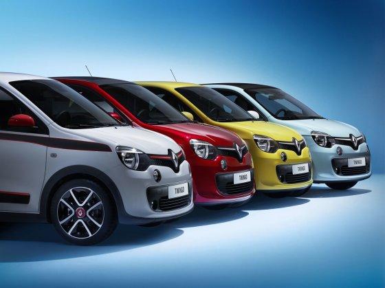 """""""Renault"""" nuotr./Mažieji """"Renault"""" automobiliai"""