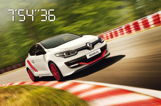"""Renault"" nuotr./""Megane R.S. 275 Trophy-R"""