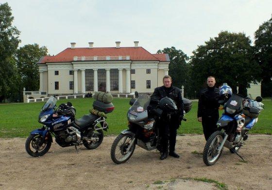 Organizatorių nuotr./Mototurizmo ralis
